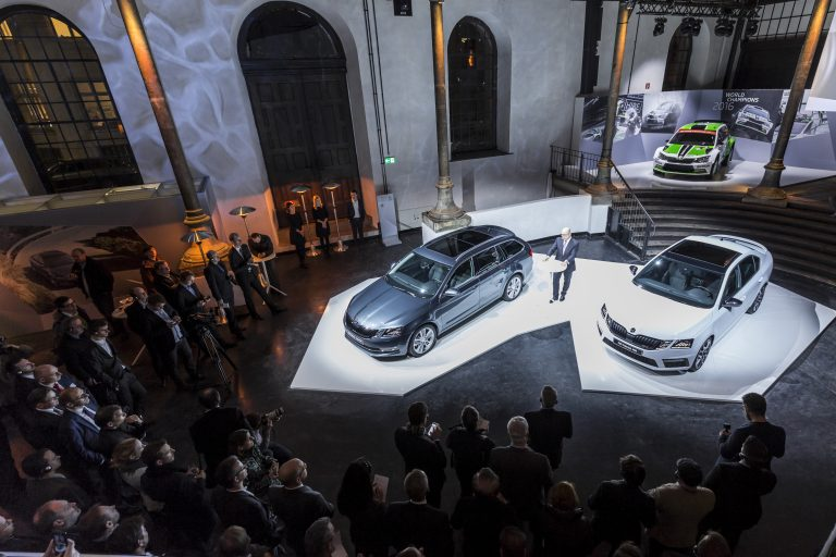 World Premiere of ŠKODA OCTAVIA in Vienna