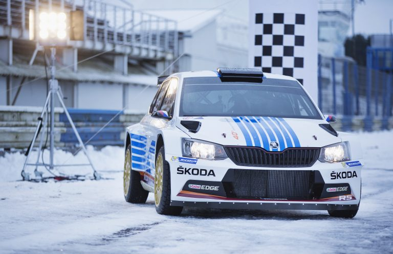 ŠKODA Motorsport at the Rally Monte Carlo