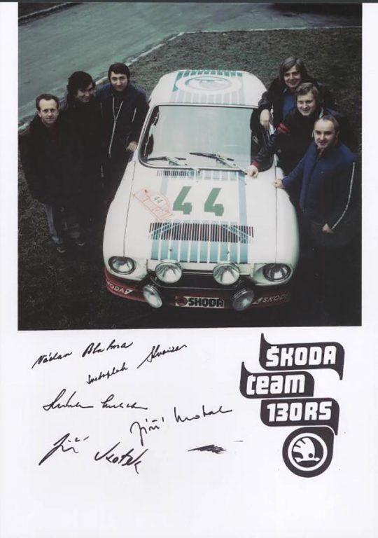 ŠKODA TEAM 130 RS