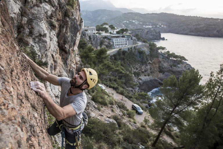 Horolezec Sebastián Álvarez