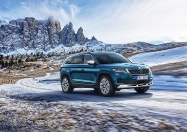 ŠKODA KODIAQ SCOUT: Robust appearance emphasises off-road capabilities