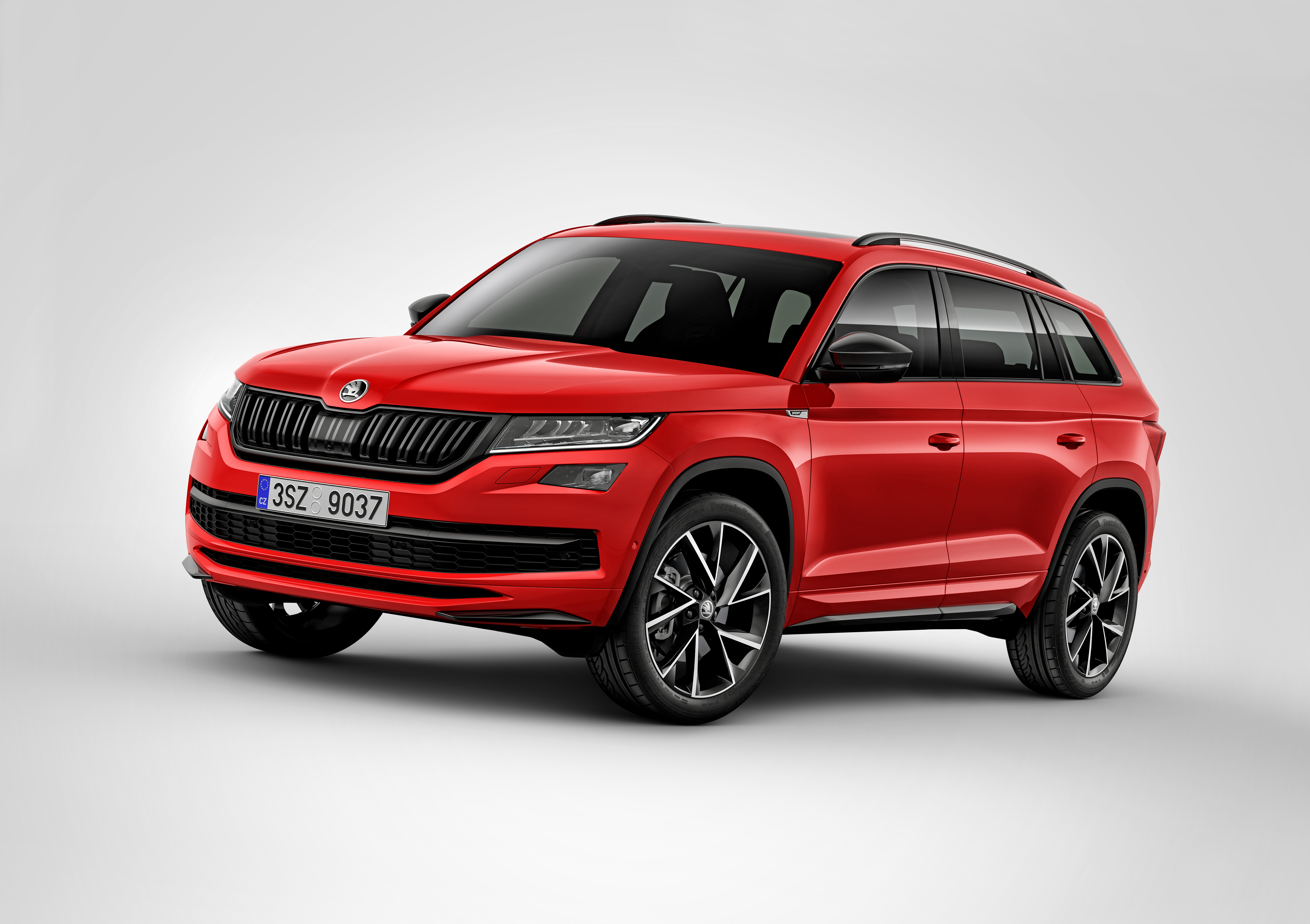 Skoda Kodiaq Sportline Sporty More Dynamic Appearance For Those Who Want To Stand Out Skoda Storyboard