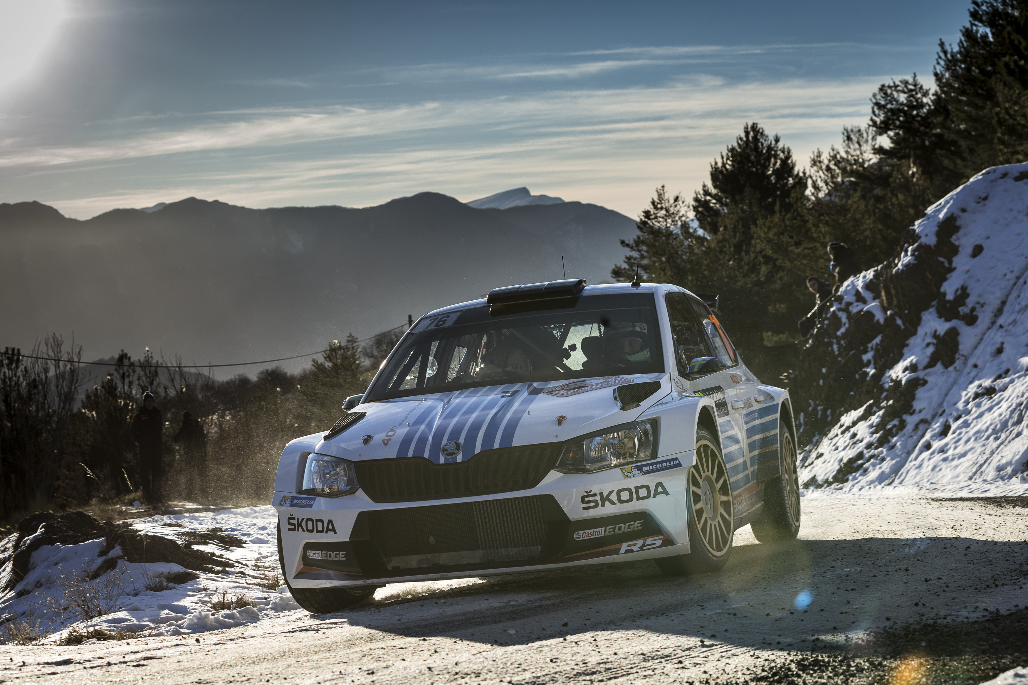 "Triumph at the ""Monte"" Mikkelsen sets milestone in Å KODA success"