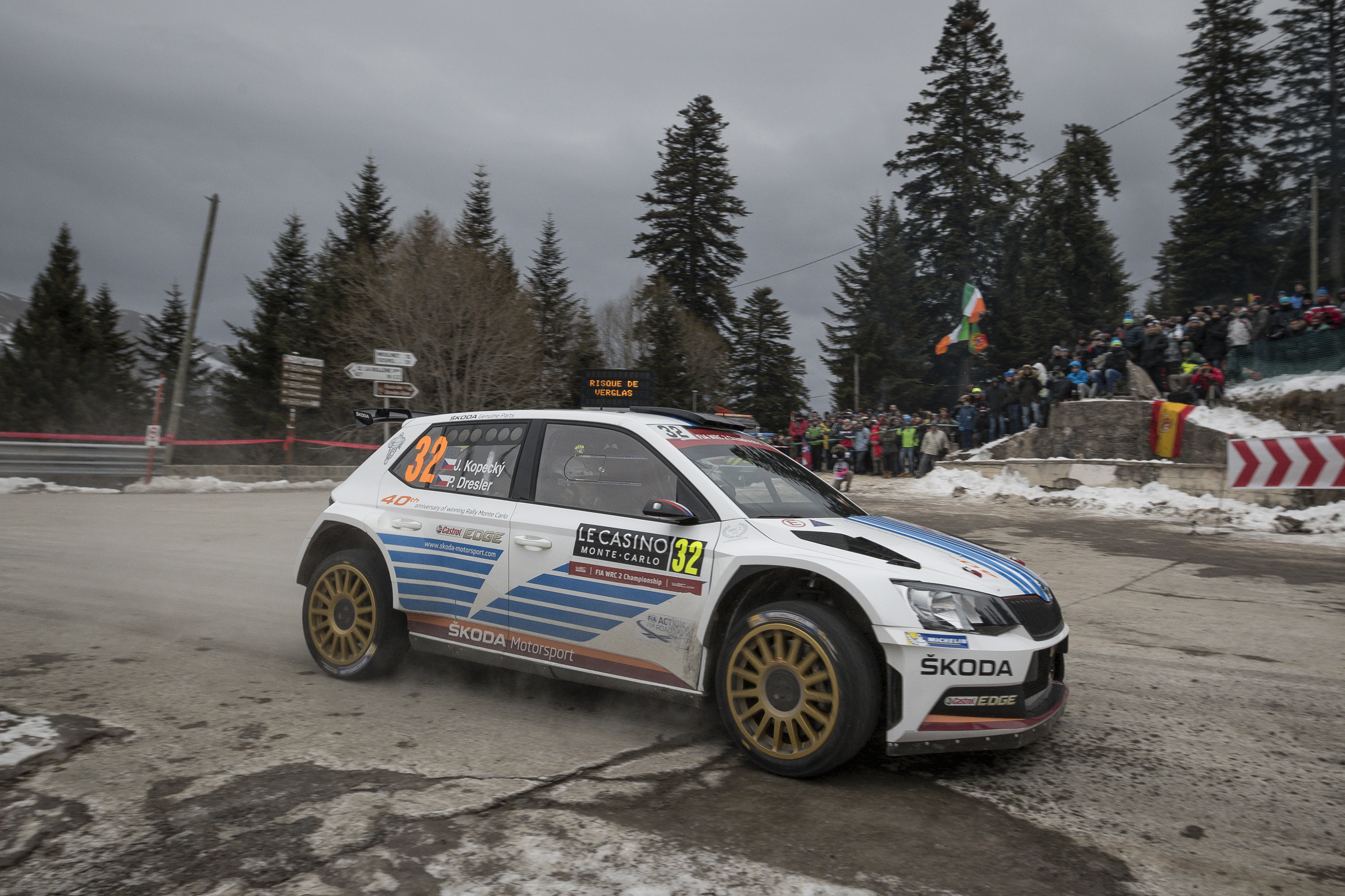 Rally Monte Carlo 2017 - ŠKODA Storyboard