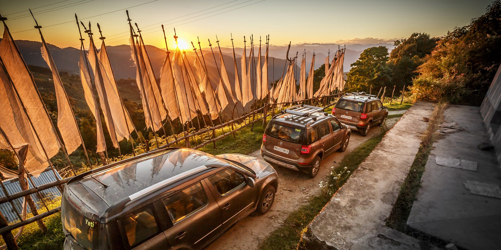 ŠKODA took three YETIs on an adventure into the wild of Bhutan in the hope for the glimpse of the mythical beast.