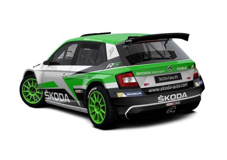 ŠKODA Motorsport na Švédské rally