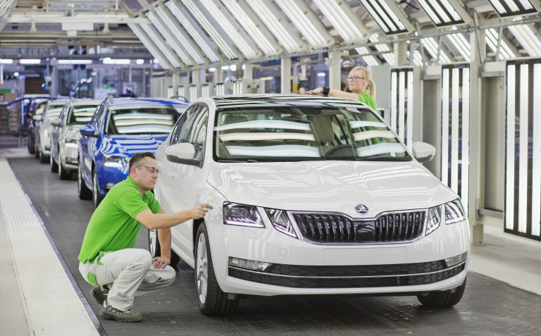 Production start for the comprehensively upgraded ŠKODA OCTAVIA