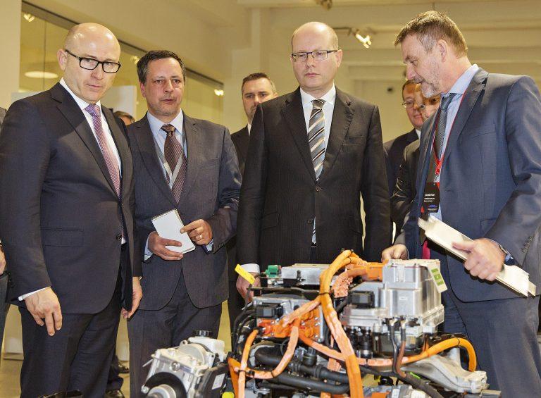 Kolokvium v sídle společnosti ŠKODA AUTO otevře cestu ,Paktu pro budoucnost českého průmyslu'