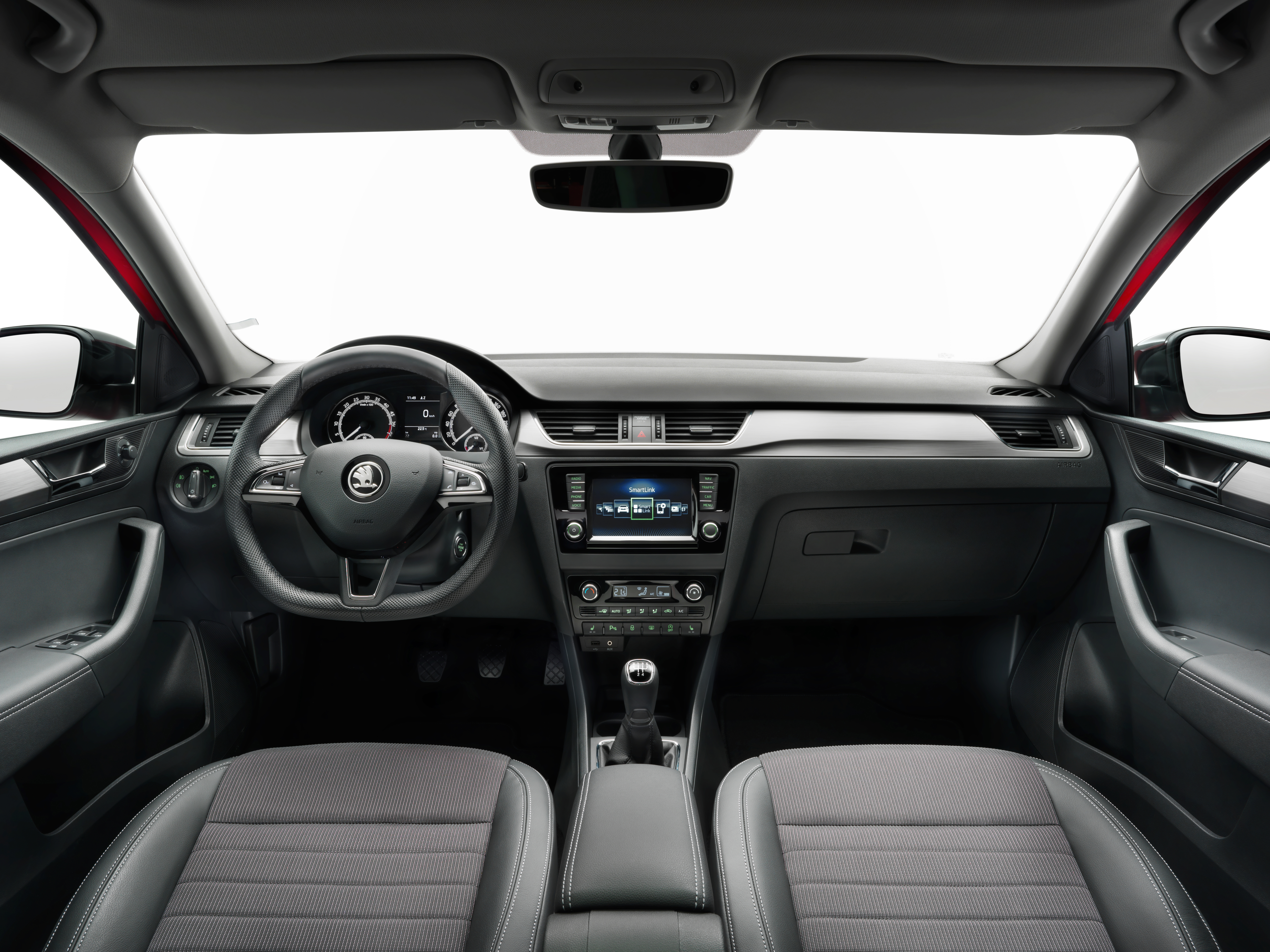 Skoda Rapid And Skoda Rapid Spaceback Optimized Interior And