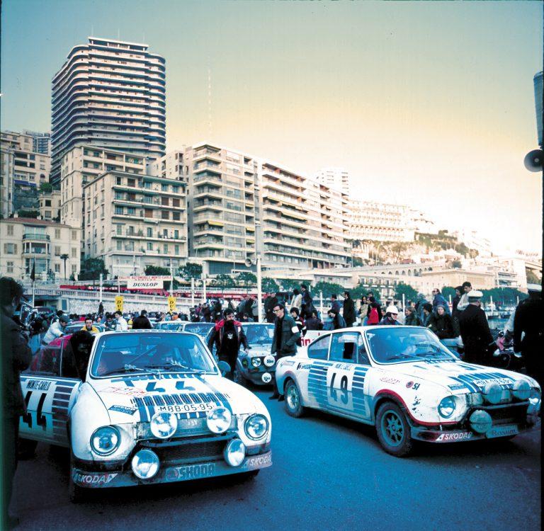 Nová výstava ve ŠKODA Muzeu - Úspěchy vozů ŠKODA na Rallye Monte Carlo