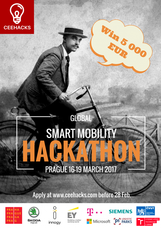 ŠKODA is partner and, with its DigiLab, also host of the 'International Smart Mobility Hackathon'