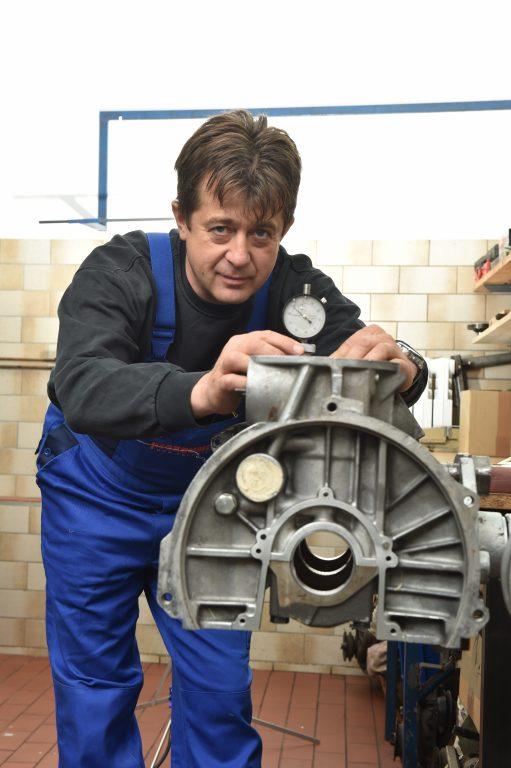 The engine of ŠKODA 130 RS