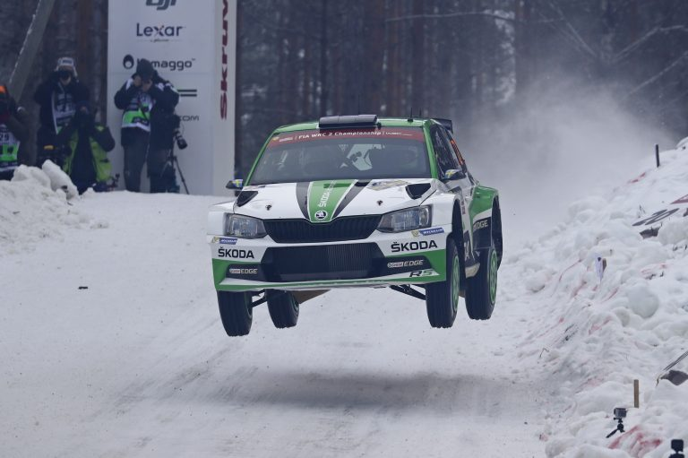 Rally Švédsko 2017