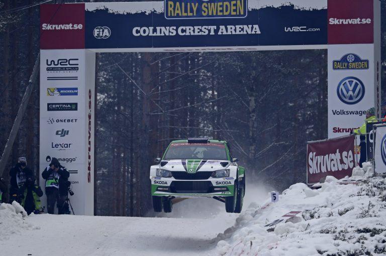 ŠKODA Motorsport at the Rally Sweden