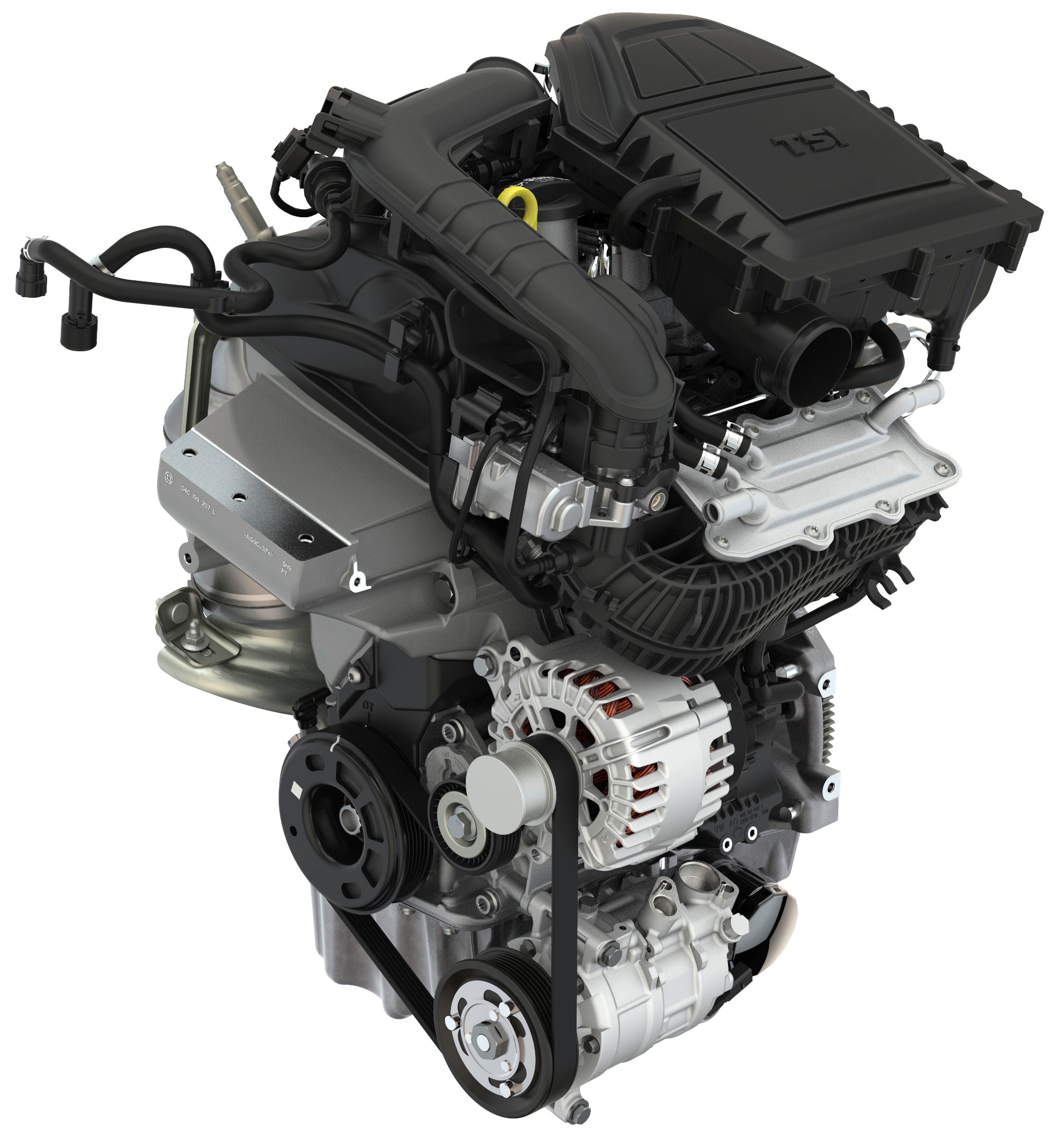 Koda Fabia 10 Tsi Dynamic Three Cylinder Engine With Low Fuel Turbo Beetle Diagram Car Parts And Component Consumption