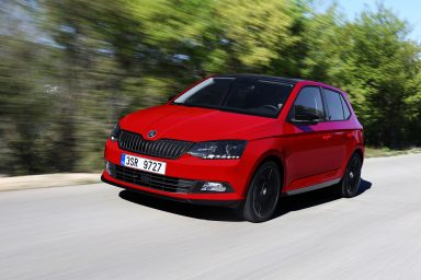 ŠKODA FABIA 1.0 TSI: dynamic three-cylinder engine with low fuel consumption