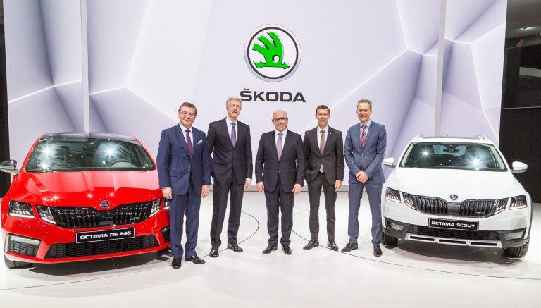 ŠKODA at Geneva Motor Show 2017