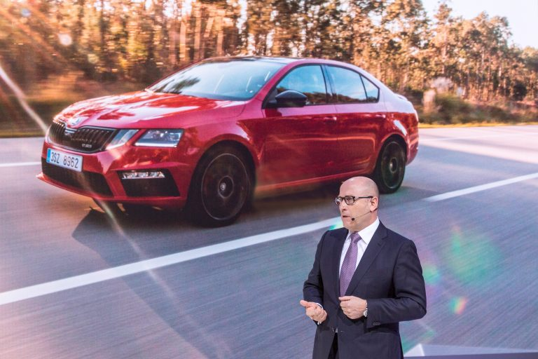 World premiere for ŠKODA OCTAVIA RS 245