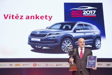 Další úspěch pro značku ŠKODA: KODIAQ získal ocenění Auto roku 2017 v České republice