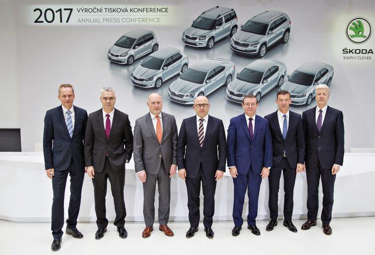 ŠKODA Annual Press Conference 2017