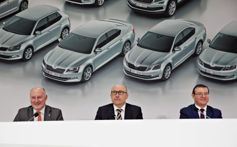 ŠKODA Annual Press Conference 2017