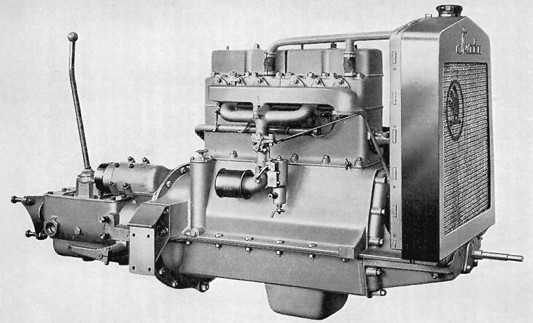 Four-cylinder engine used in ŠKODA RSO