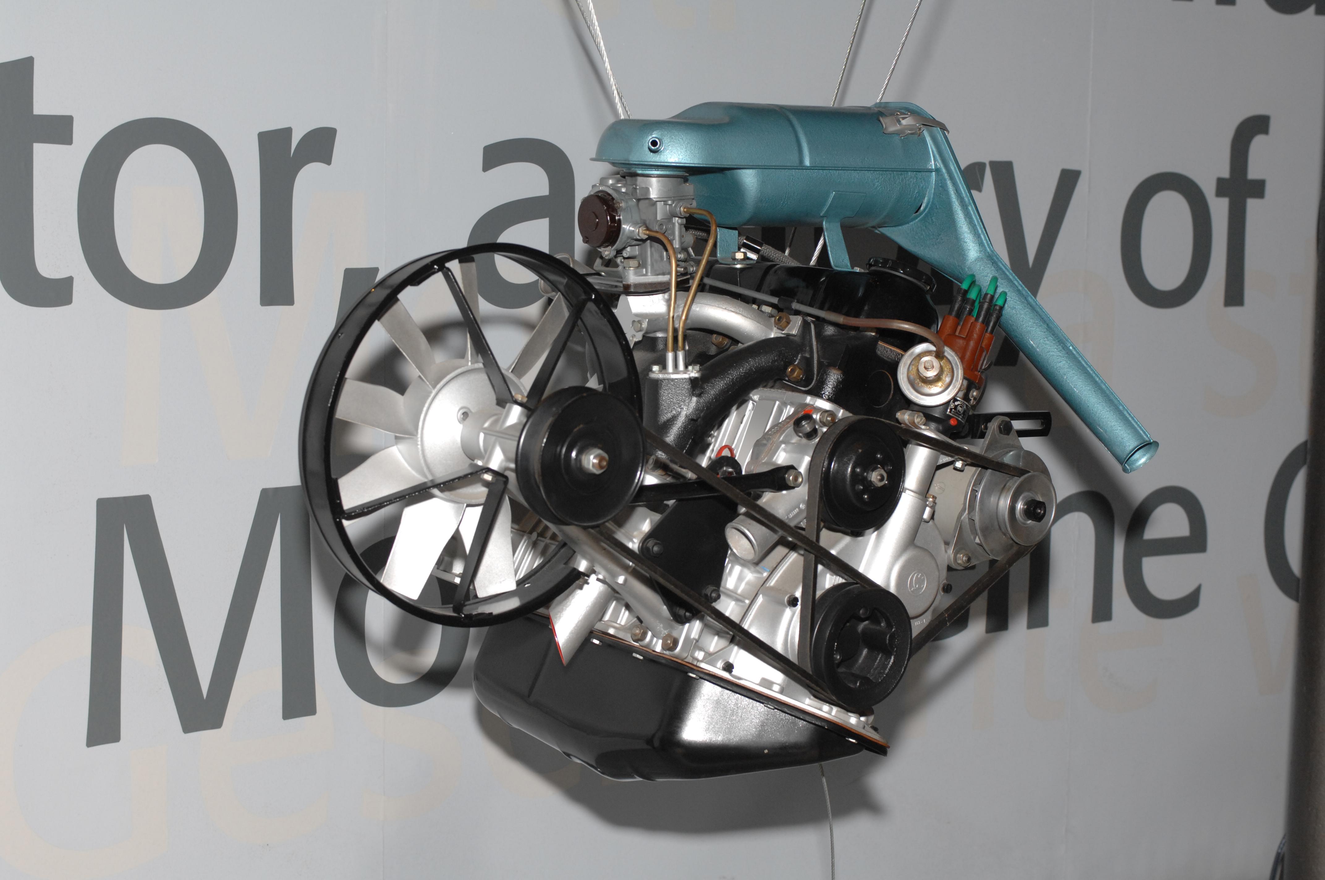 Four-cylinder petrol engine used in ŠKODA 1000 MB - ŠKODA Storyboard