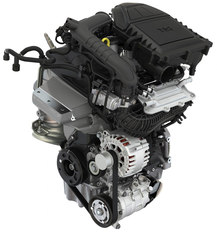 Three-cylinder Petrol Engine Used In  U0160koda Fabia 1 0 Tsi