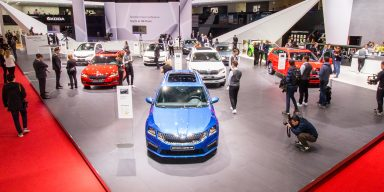 Walk through the ŠKODA booth in Geneva