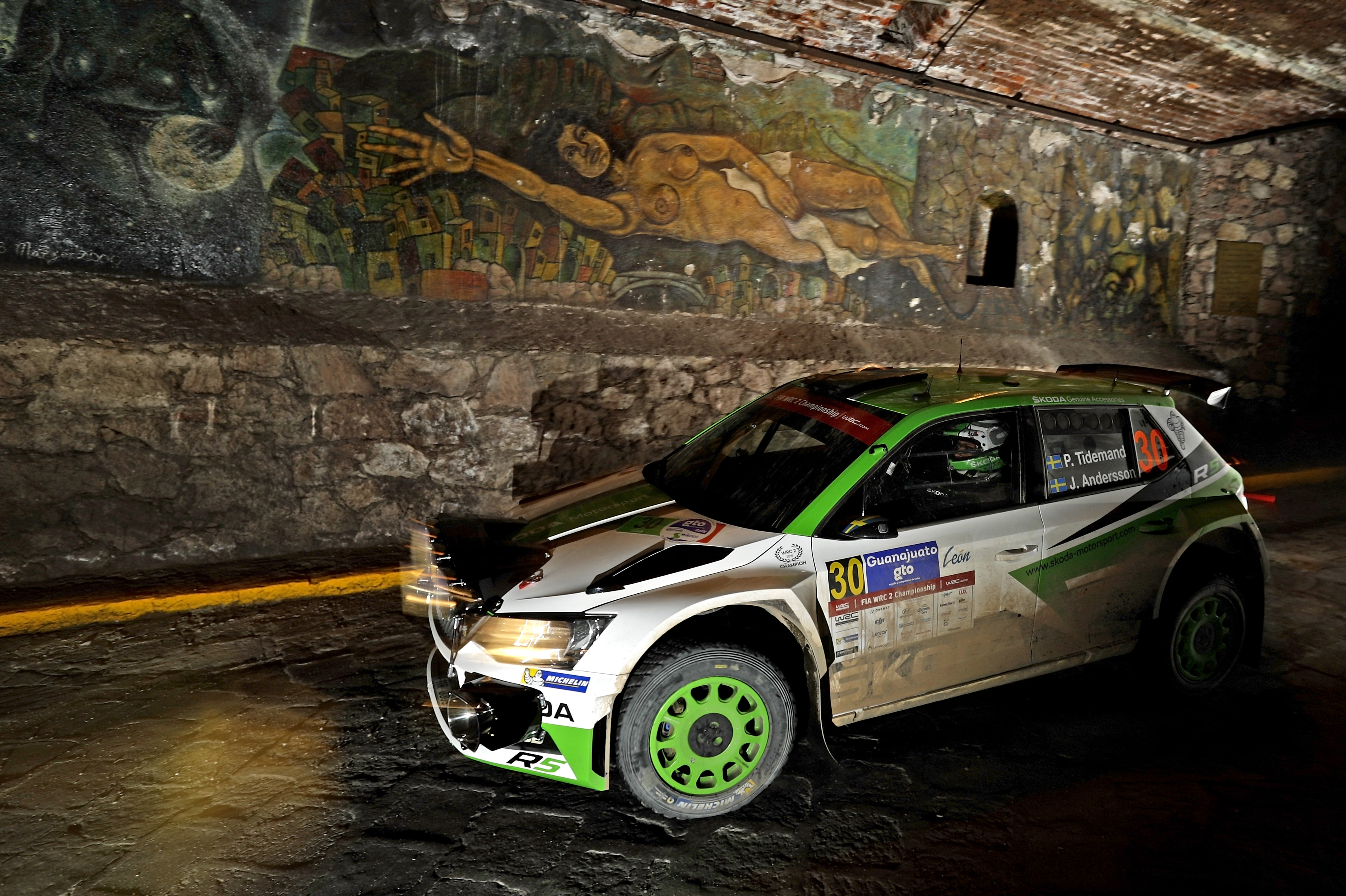 rally mexico tidemand extends his lead in the koda fabia r5 koda storyboard. Black Bedroom Furniture Sets. Home Design Ideas