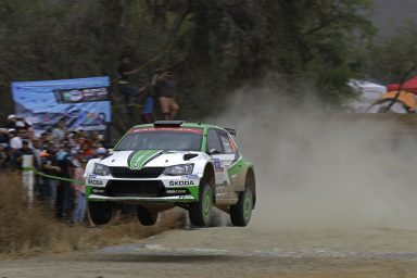 Tidemand wins dramatic duel in Mexico to continue ŠKODA's winning run