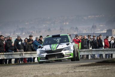 Winning streak continues for ŠKODA: Jan Kopecký triumphs at start of Czech Rally Championship