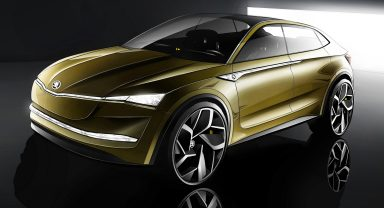 VISION E: ŠKODA's charged future