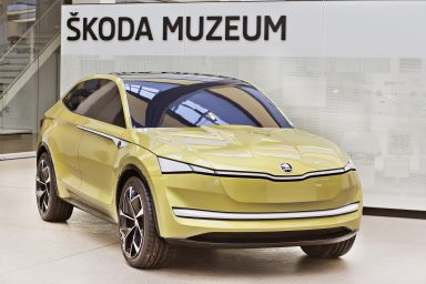 ŠKODA Museum Exclusive: Clay model of ŠKODA VISION E