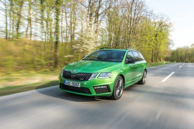 ŠKODA OCTAVIA RS and ŠKODA OCTAVIA COMBI RS - Press Kit