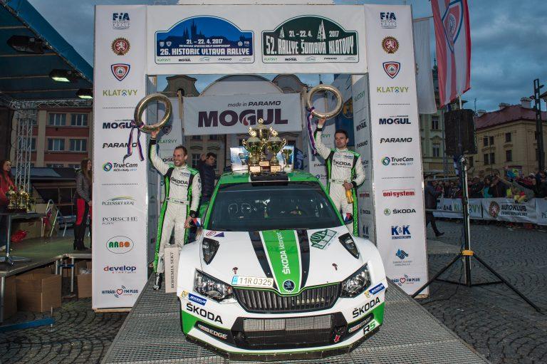 Rally Sumava 2017