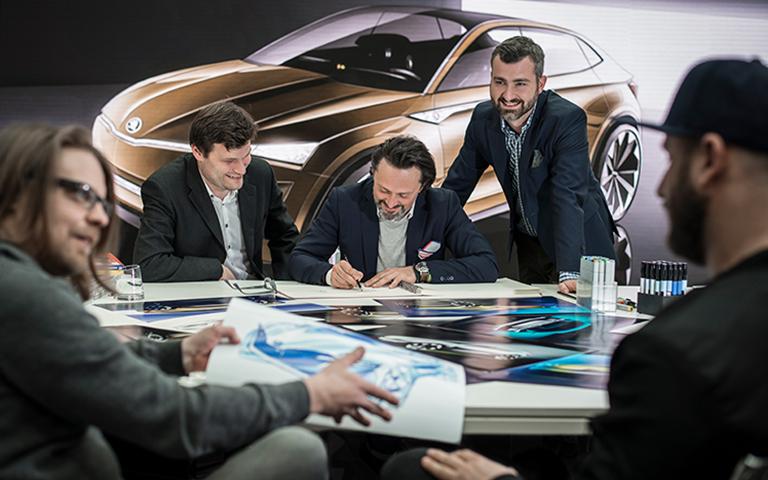 8 Steps to a New Concept Car - ŠKODA Storyboard