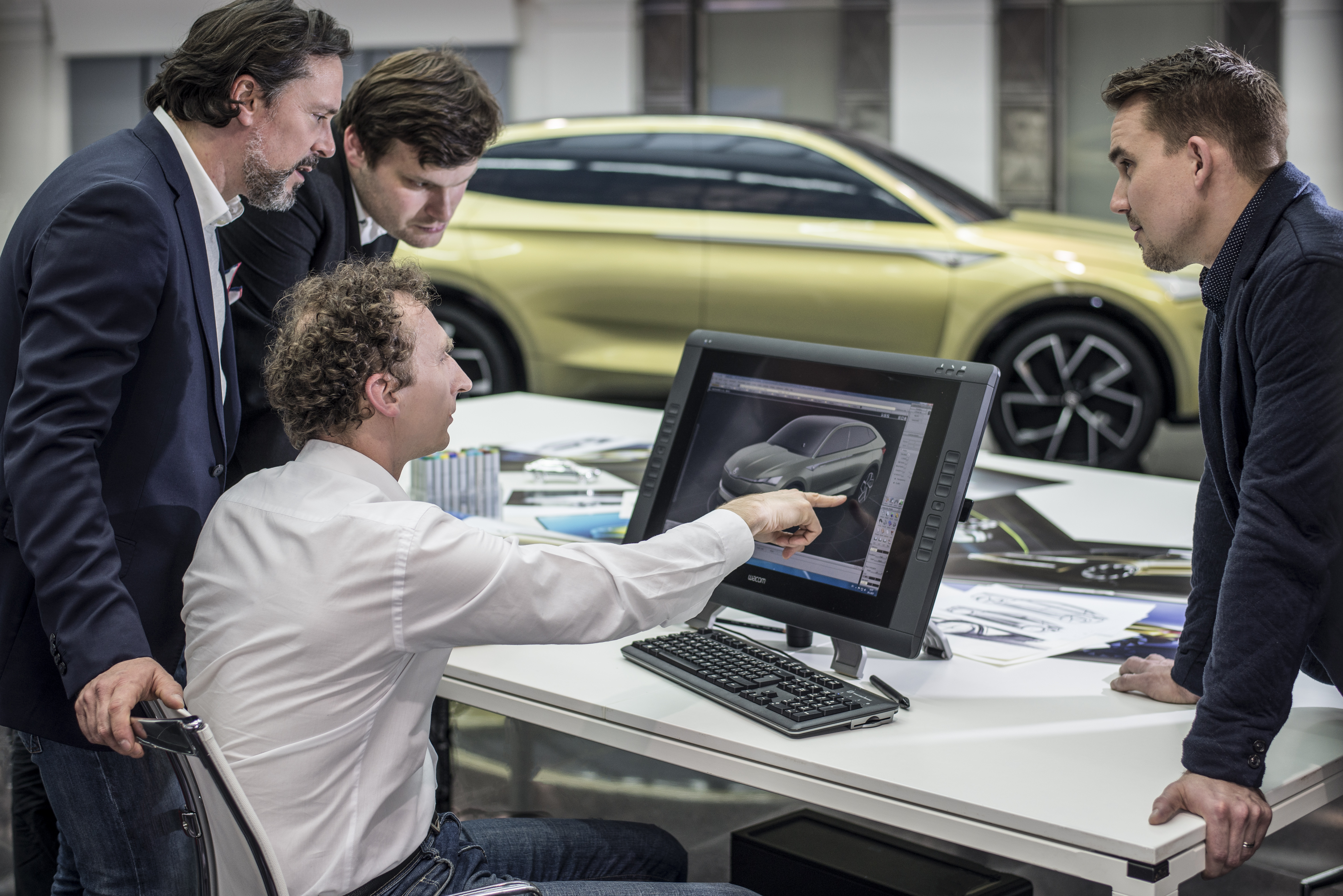 8 Steps To A New Concept Car Skoda Storyboard