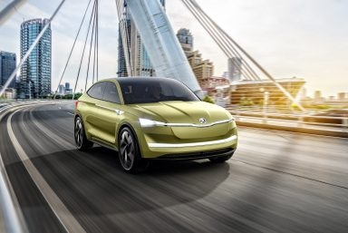 ŠKODA at Auto Shanghai 2017:  The first ŠKODA concept car with electric drive and an outlook on the company's electromobility strategy
