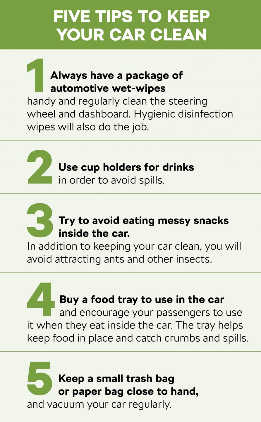 Five tips to keep your car clean koda storyboard - How to keep your car exterior clean ...