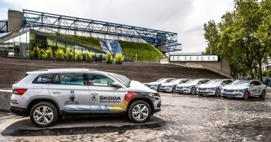 ŠKODA is the official main sponsor and vehicle partner of the IIHF Ice Hockey World Championship for the 25th time