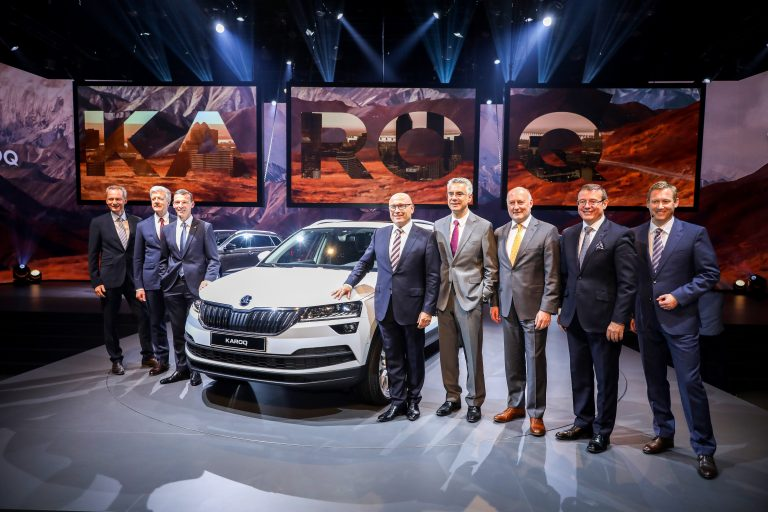 The ŠKODA KAROQ world premiere in pictures