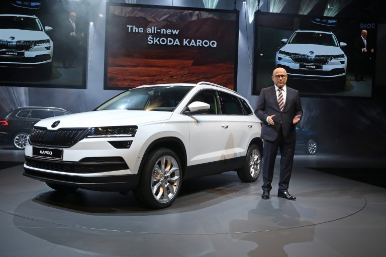 The ŠKODA KAROQ world premiere in Stockholm