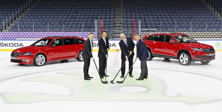 ŠKODA is the official main sponsor of the IIHF Ice Hockey World Championship for another four years