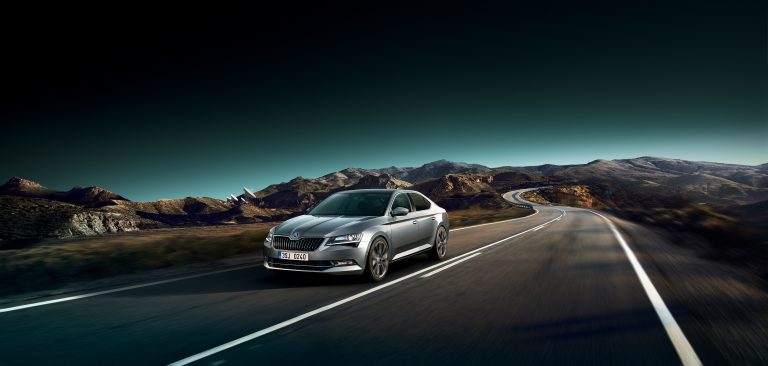 ŠKODA SUPERB with the new equipment  for even better comfort and safety