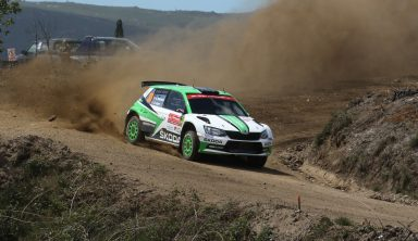 Rally Portugal: Andreas Mikkelsen in a class of his own, leading WRC 2 in a ŠKODA FABIA R5
