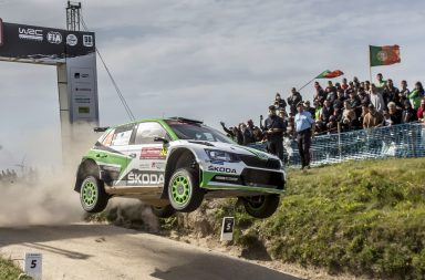 Rally Portugal: Victory for Pontus Tidemand and ŠKODA – last minute drama for Andreas Mikkelsen
