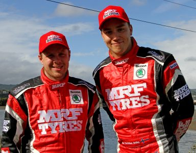 Gill and Veiby – two ŠKODA drivers fighting for APRC lead at Malaysian rally