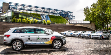 ICE HOCKEY AND ŠKODA GO TOGETHER