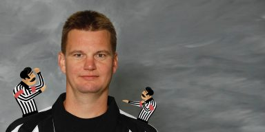 The First European Referee in NHL